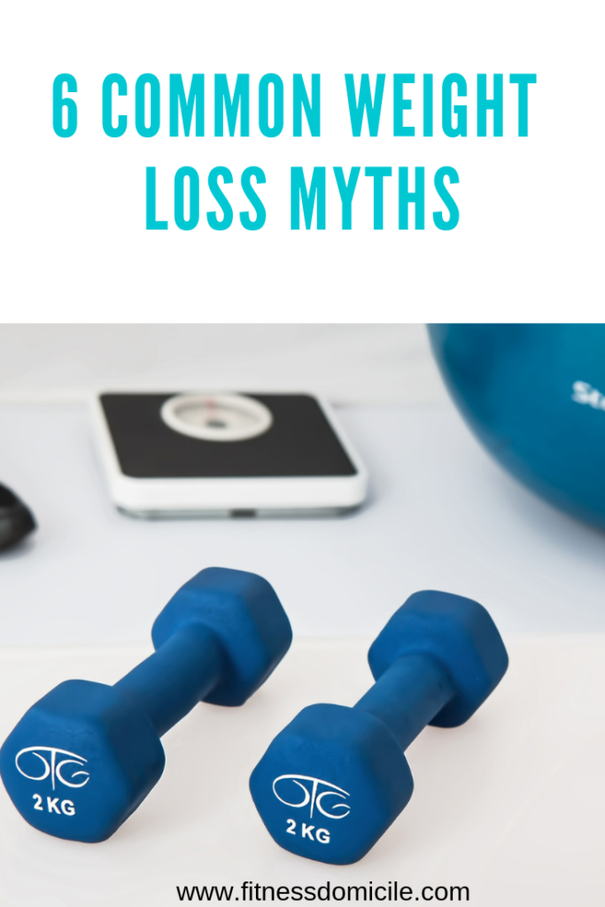 6 common weight loss myths