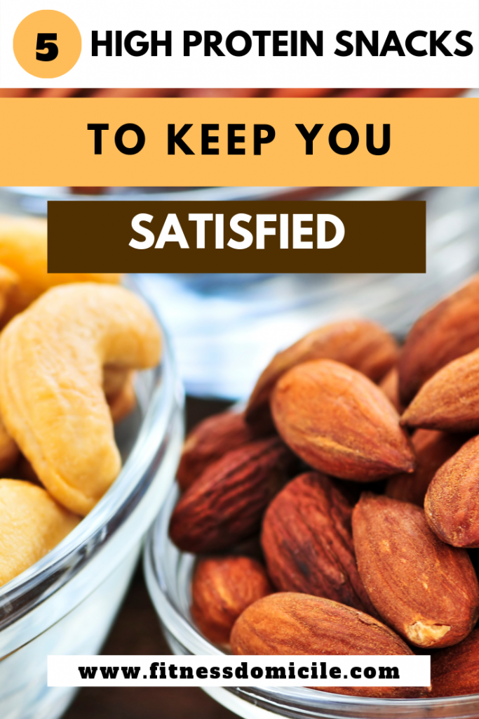 Five High Protein Snacks to Keep You Satisfied