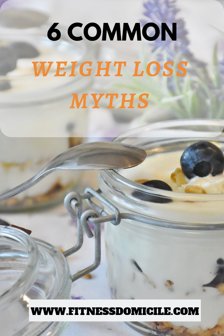 6 common weight loss myths busted
